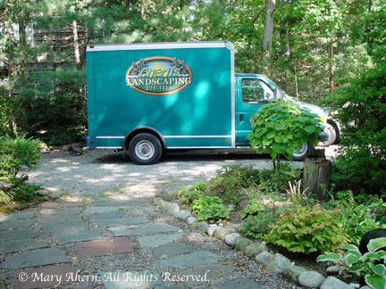 Ahern's Landscaping of Huntington Long Island (Not a relative though)