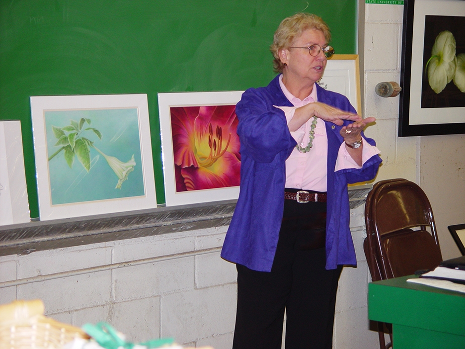 Mary Ahern - Farmingdale State Horticulure Department Art Lecture