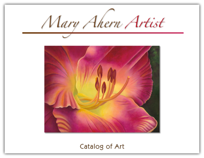 Art Catalog by the artist, Mary Ahern