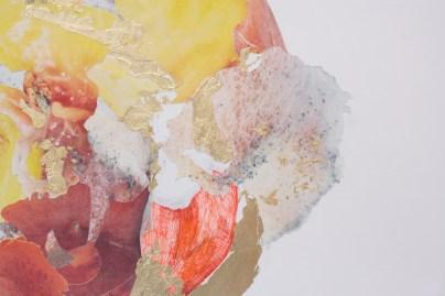 """Detail of """"Peach"""""""