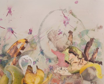 """Detail of """"Transitory Benign Plagues of the Tongue"""""""