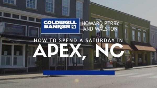 Apex NC Saturday Things to Do