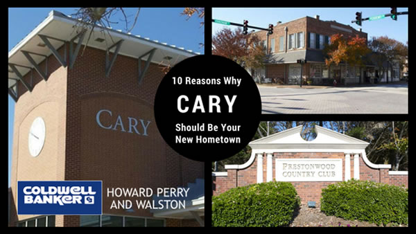 Living in Cary NC