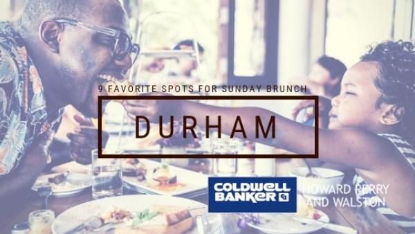 Durham Restaurants for Brunch