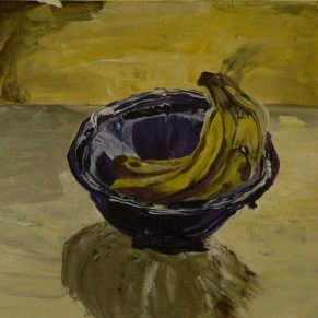 Still Life- Banana Bowl