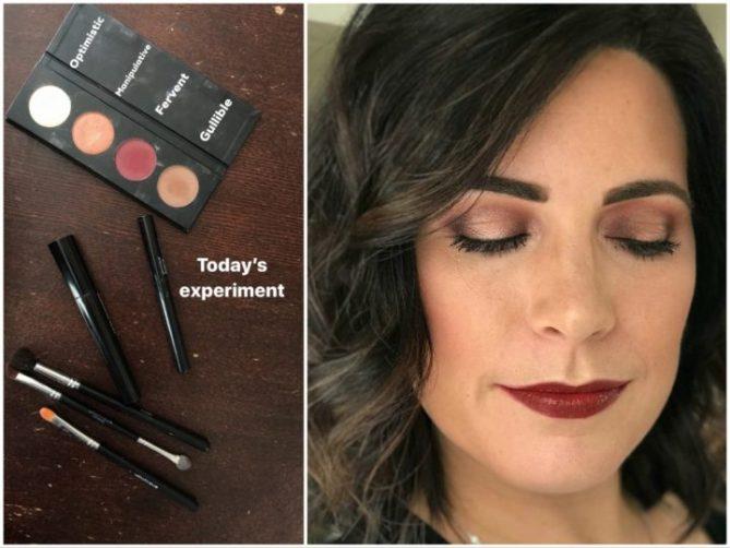 copper eyeshadow tools