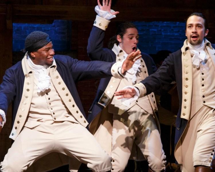 Hamilton: The Story of tonight 3