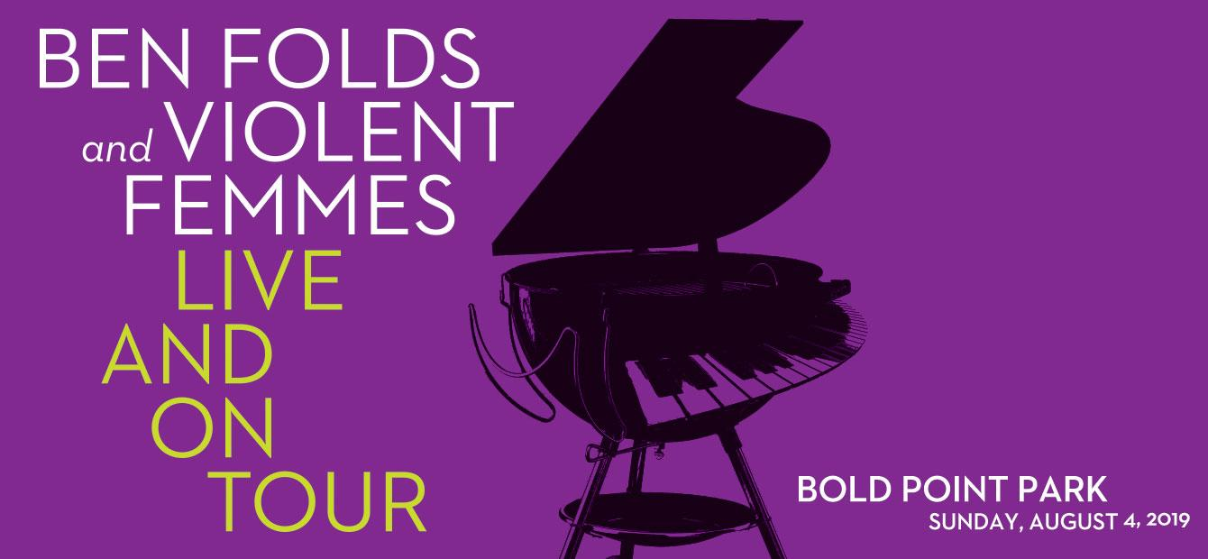 Wicked Rhody: (8/2/19-8/4/19) – Ben Folds & Violent Femmes