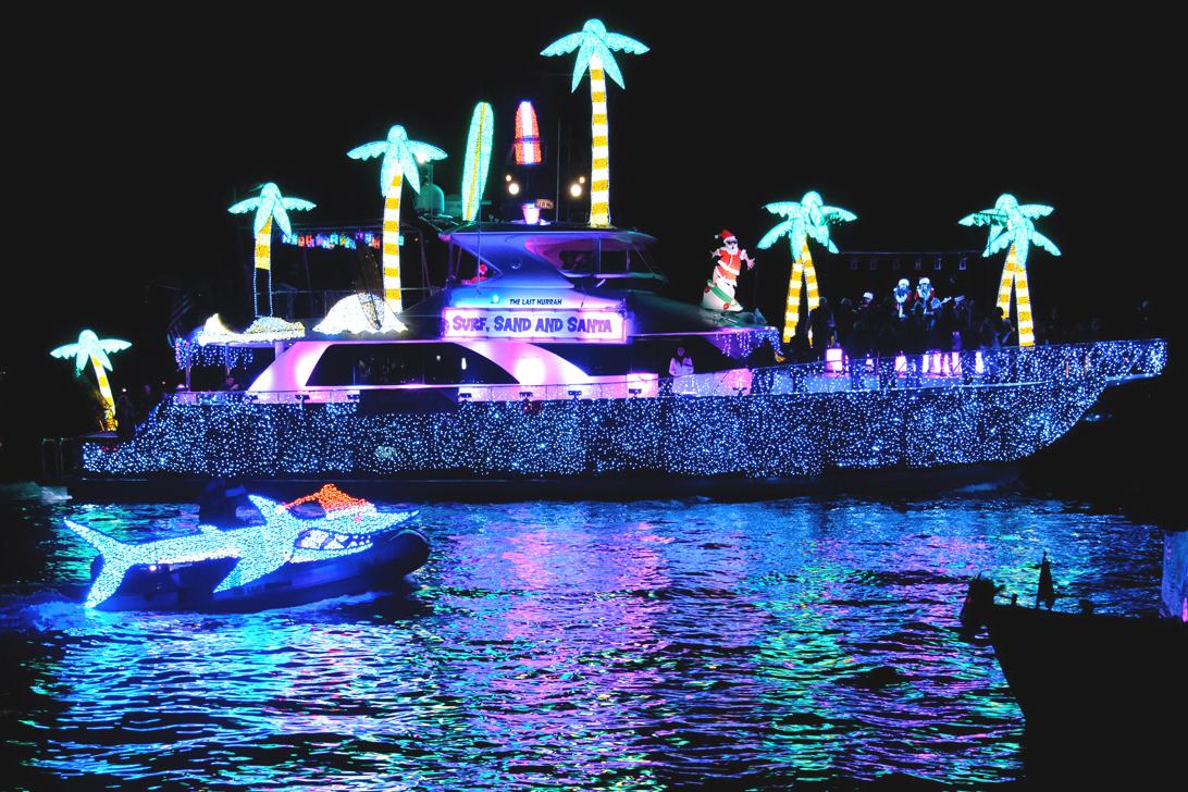 Wicked Rhody: (11/29/19 – 12/1/19)   Newport Illuminated Boat Parade