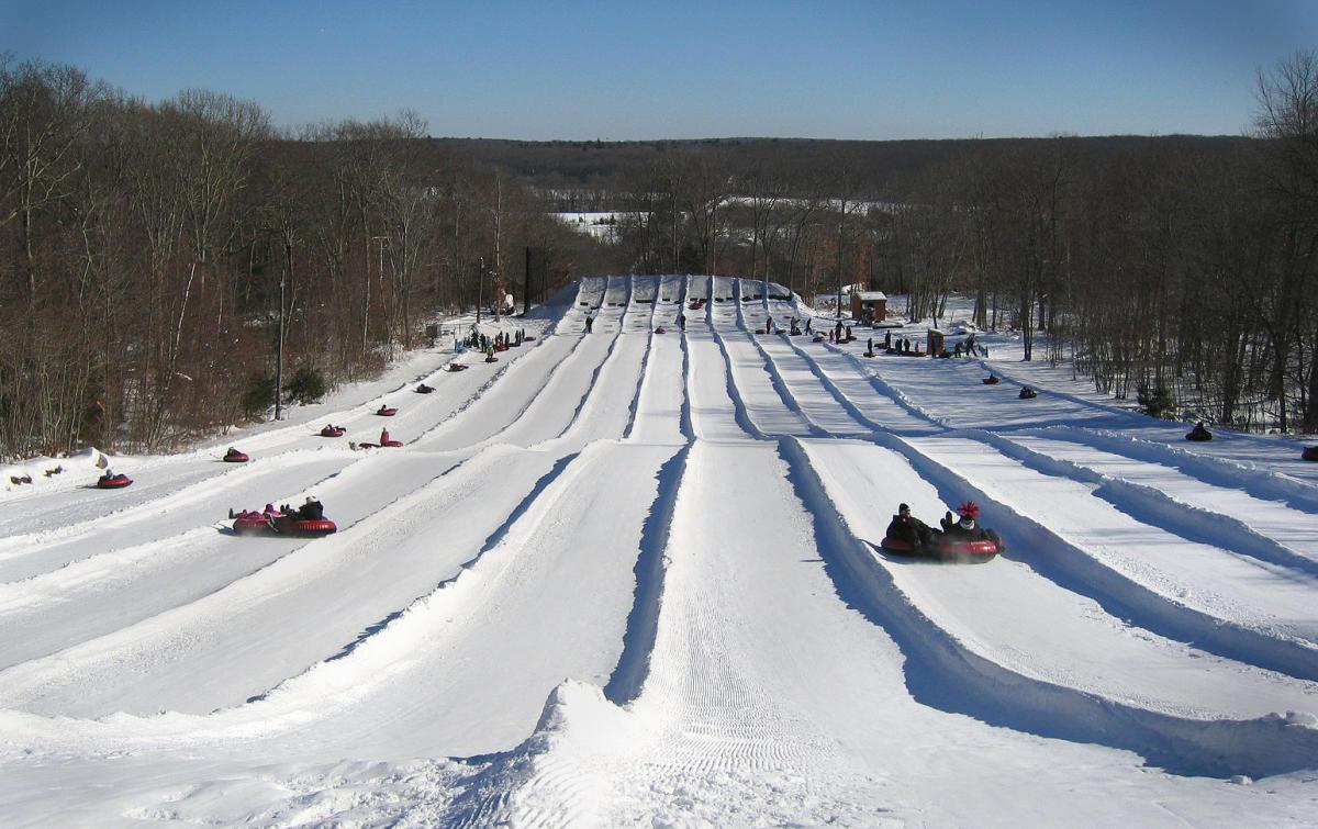 Wicked Rhody: (1/24/20 – 1/26/20)   Snowtubing At Yawgoo Valley