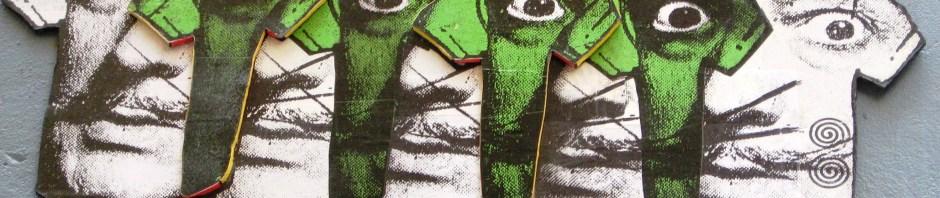 hoenix the Street Artis, t-shirts, Salvador Dali, street art, Phoenix does Dali, Salvador Dali, Phoenix the Street artist, street art, Is It Art?, Maryann Adair,