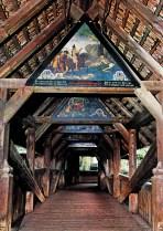 Kapellbrucke, Chapel Bridge, Lucerne wooden bridge, Maryann Adair, Is It Art?
