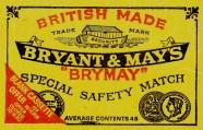 bryant&may matches