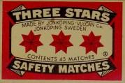 three stars matches - Sweden