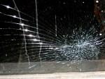 crack glass