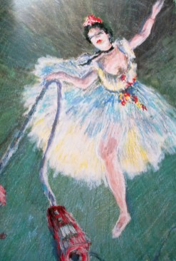 Sally Swain, - Great Housewives of Art | Mrs Degas Vacuums the Floor