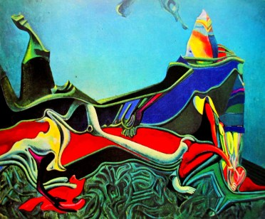 Max Ernst - landscape with wheatgerm