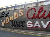 ABOVE   Morphett Street Wall - Adelaide