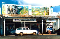 Nimbin Newsagency Shop Front art