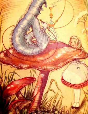 AH Watson - Alice-& the Caterpillar