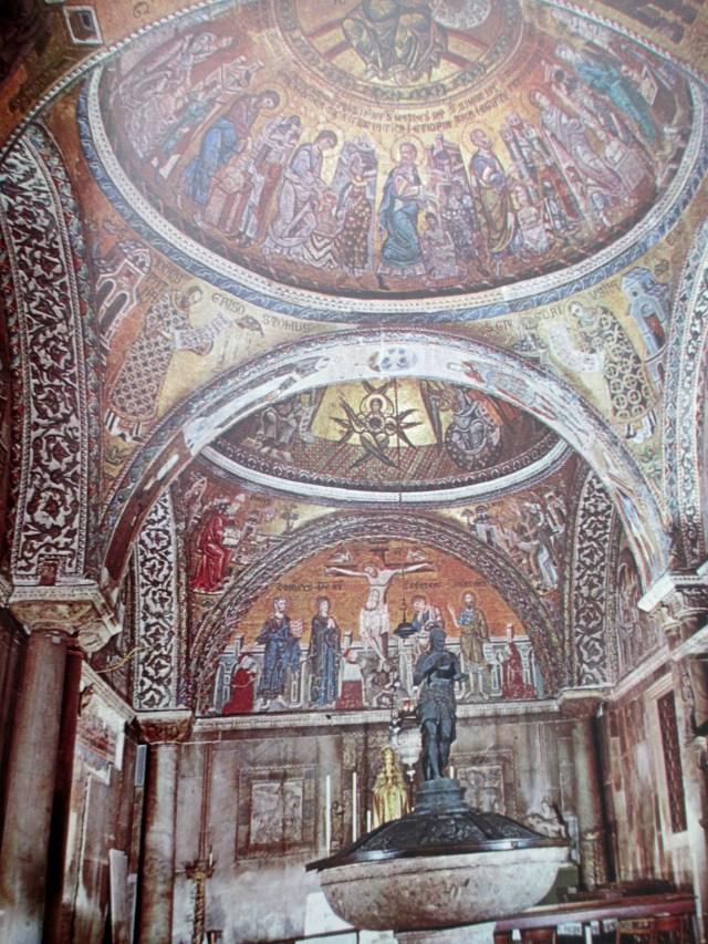 venice - basilica of st mark baptistery