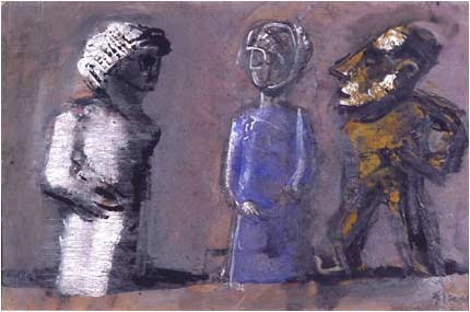 Mario Sironi | Three Totems