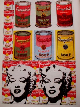 Andy Warhol | soup cans | Marilyn Monroe