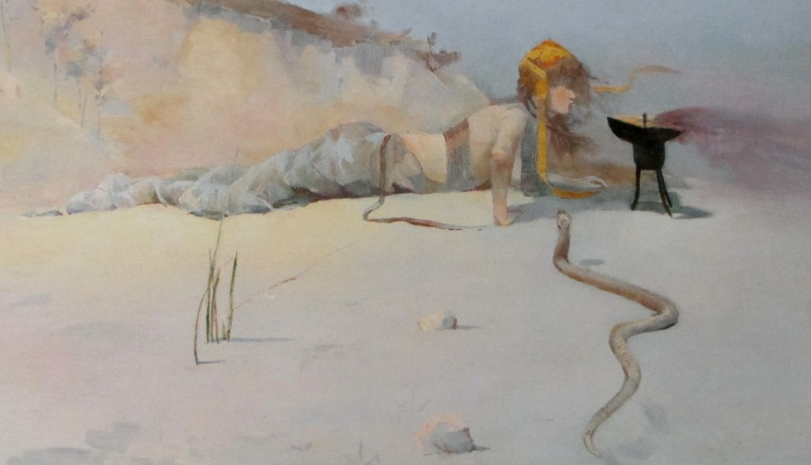 Charles Conder - hot wind