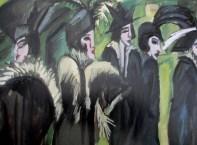 Ernst Ludwig Kirchner - Five women on the street