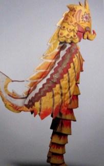 Natalia Goncharova - costume for a sehorse - sadko