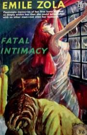 Fatal Intimacy by Emile Zola, cover art, is it art?