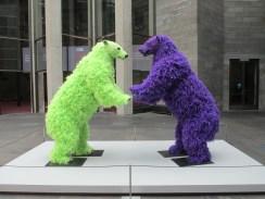 Paola Pivi - standing bears, is it art?