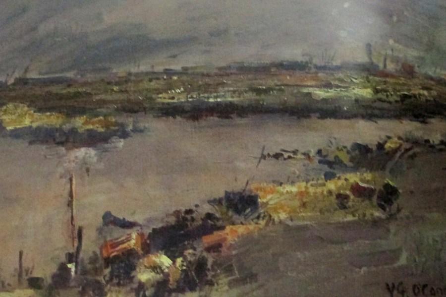 Vic O'Connor - Fishermen's Bend, Australian artists, is it art?