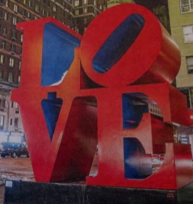 Robert Indiana   Love sculpture   installation, artwork, is it art?