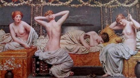 Albert Moore, A Summer Night, painting, art, is it art?