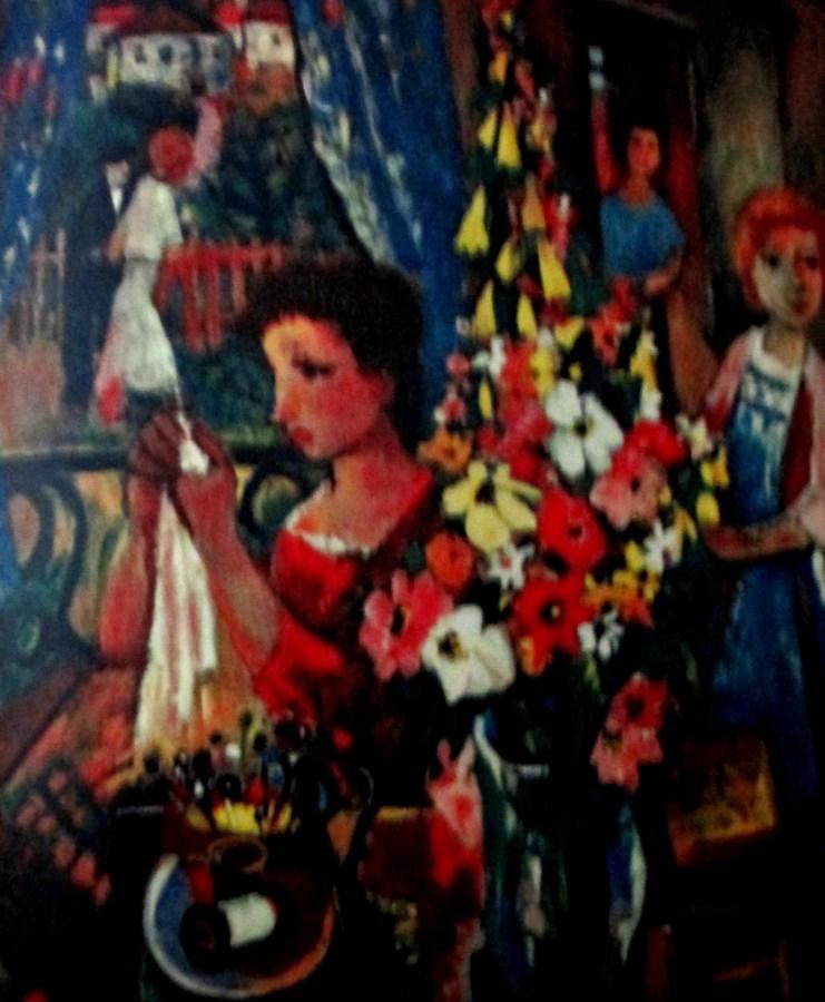 Charles Walch - the blue window, art, artists, is it art?