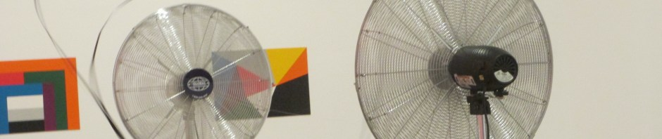Zilvinas Kempinas - Double O, installation, fans, is it art?