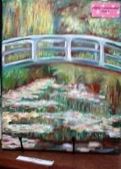 Laura Buckley student art | Monet's Bridge
