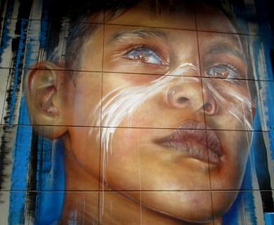 Adnate- substation street art, Melbourne, street art, street artists, Adnate, is it art?
