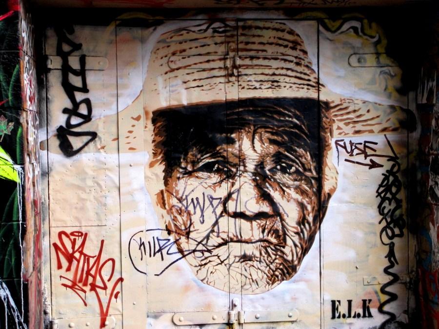 ELK Hosier Lane, ELK, Hosier Lane ,Melbourne, street art, street artists, stencil art, is it art?