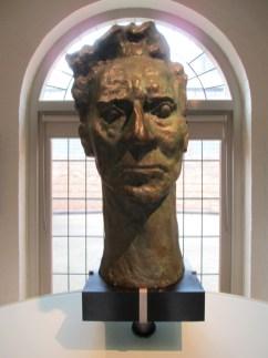 Percy Grainger head bust | Grainger Museum, Percy Grainger, Is it art?