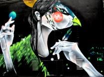 Twoone laneway mural, Twoone, street art, street artists, Australian street artists, Melbourne, is it art?