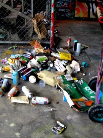 Adelaide Street art aftermath