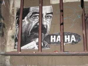 Phoenix the street Artist   Haha   Hosier Lane