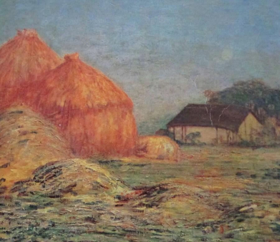Charles Conder | Hayricks in Giverny