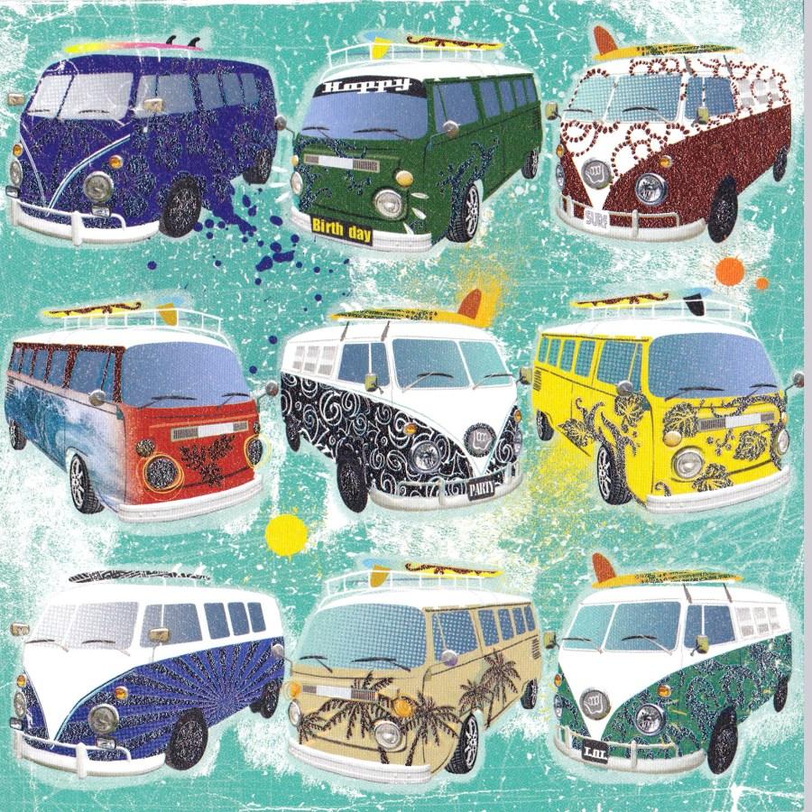 Clare Maddicott Cruisin' | Reuben McHugh | VW Combi