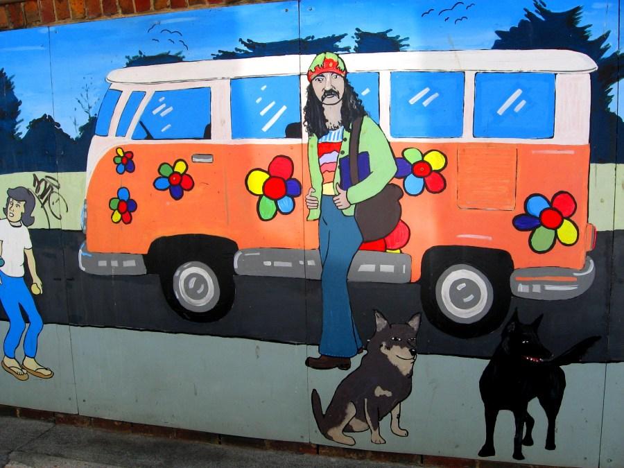 VW Combi mural   Frankston