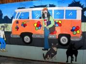 VW Combi mural | Frankston