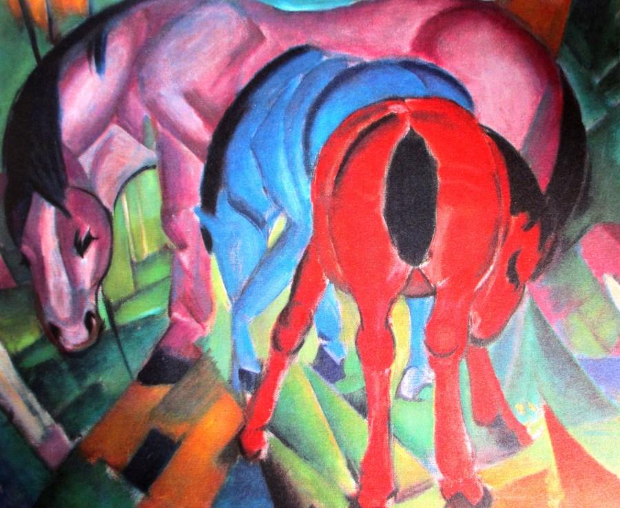 Franz Marc   3 Horses (1912)
