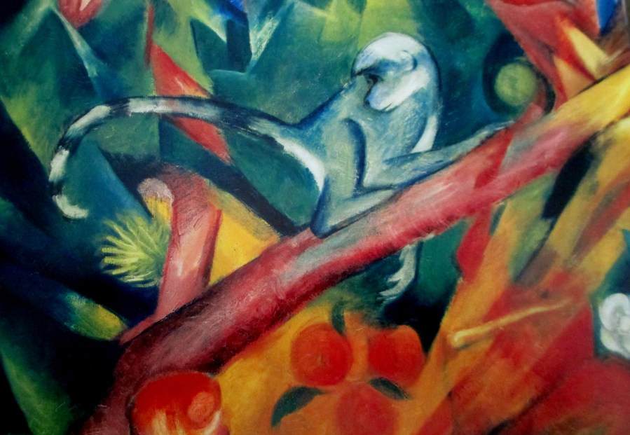 Franz Marc | Llittle Monkey (1912 Lenbachaus Munich))